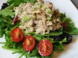 Tuna Salad on bed of Greens in Green Valley | Green Valley Restaurant