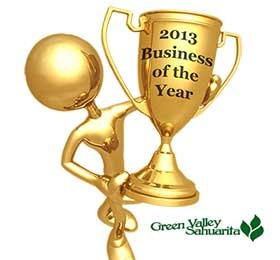 2013 Green Valley New Business Of the Year
