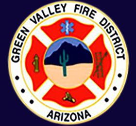 Green Valley Fire department at the 19th hole